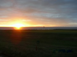 Sonnenuntergang Macra